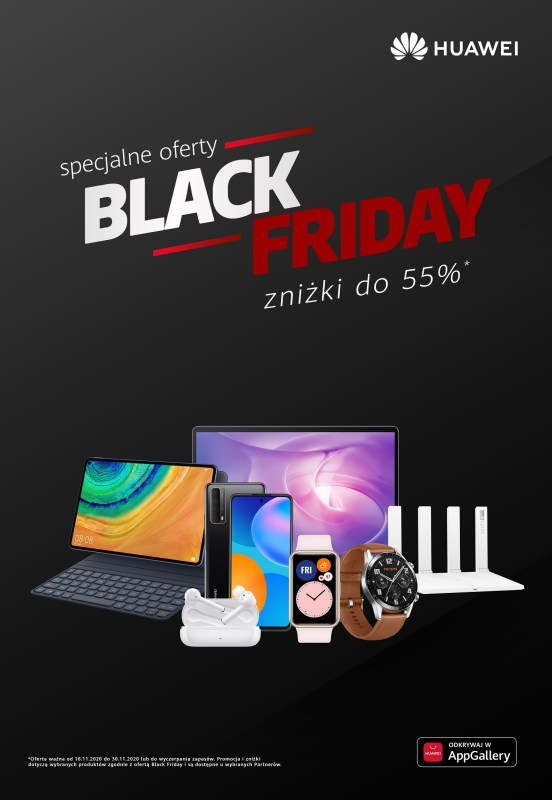 Black Friday w Huawei