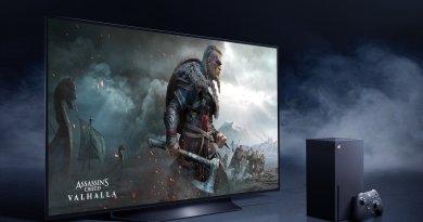 LG OLED i Xbox Series X