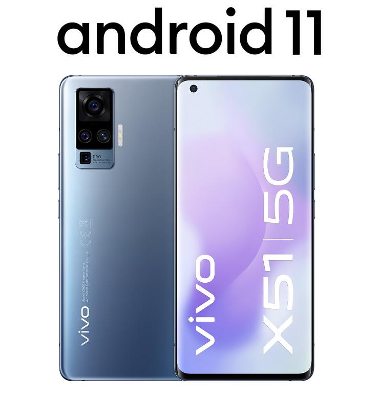 vivo X51 5G z Android 11