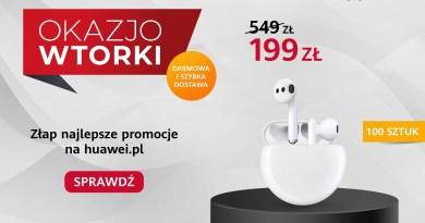 OkazjoWTORKI - Huawei FreeBuds 3