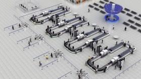Projekt koncepcyjny lotniska Fot: Nuctech