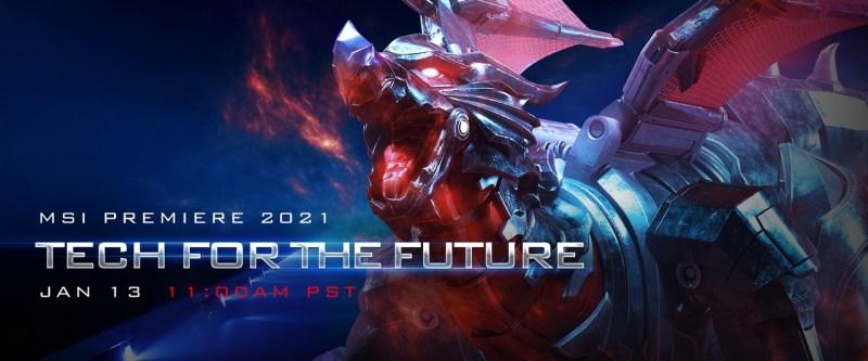 MSI Premiere 2021 - Tech For The Future