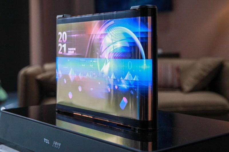 TCL - elastyczny ekran OLED