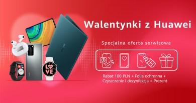 Walentynki w Huawei