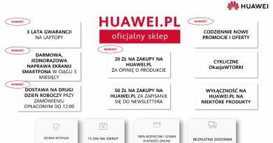 korzyści na huawei.pl