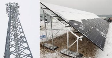 stacja solarna BTS