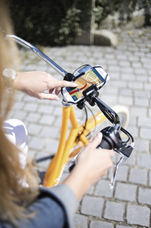 Uchwyt na smartfon o szerokości 5-9 cm