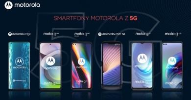Motorola - smartfony
