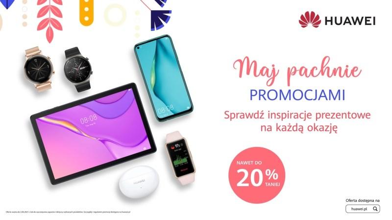 Huawei – majowe