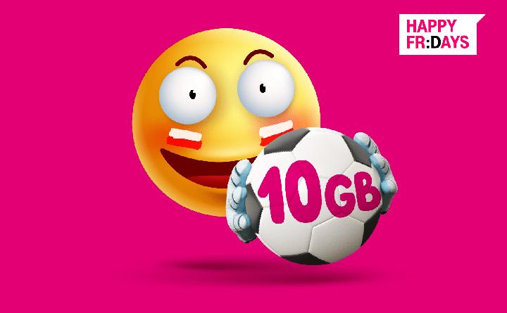 10 GB na EURO 2021
