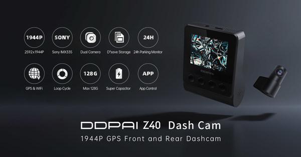 DDPAI Z40 dashcam