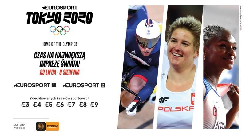 Eurosport z Igrzyskami Olimpijskimi
