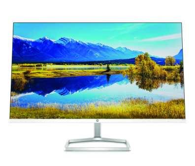 Seria monitorów HP M-Series obejmuje teraz 24- i 27-calowe modele, na których można oglądać seriale i filmy, przeglądać strony internetowe lub grać, a wbudowany system audio dostarcza maksimum wrażeń.