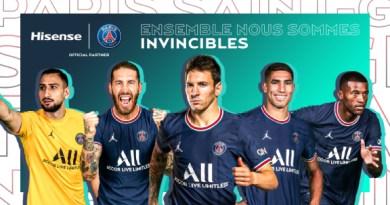 Hisense z Paris Saint-Germain