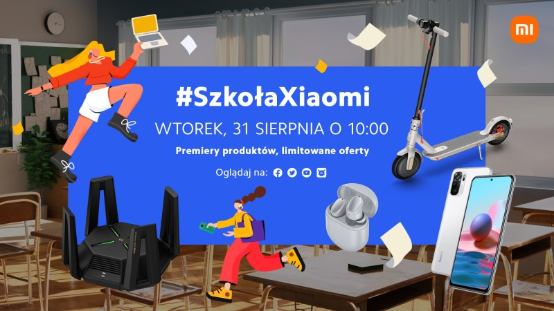 Polskie premiery Xiaomi