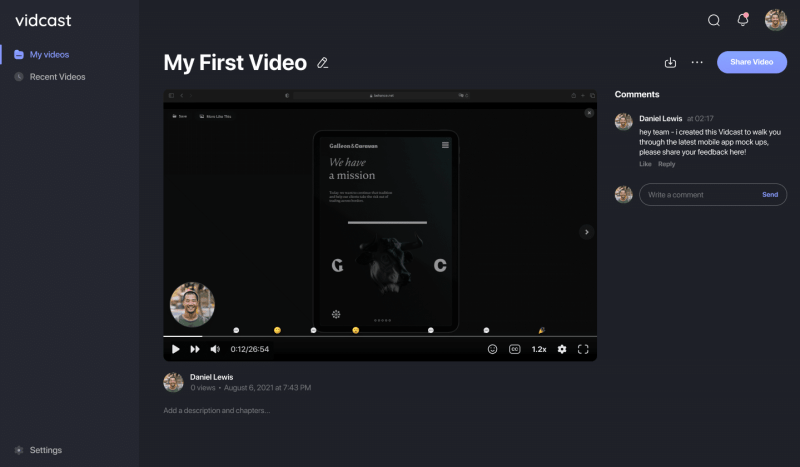 Cisco Vidcast