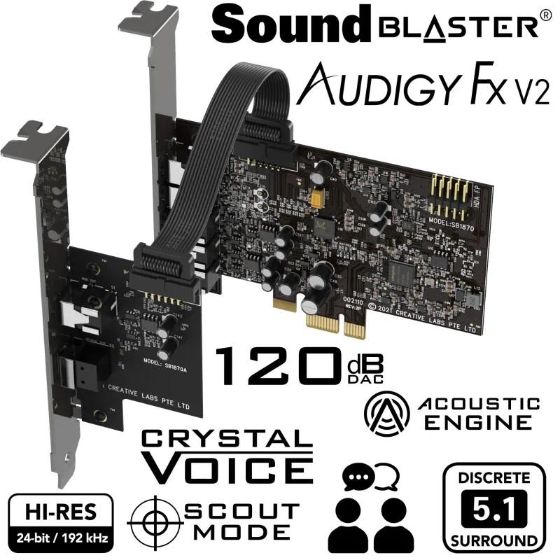 Creative Sound Blaster Audigy FX V2