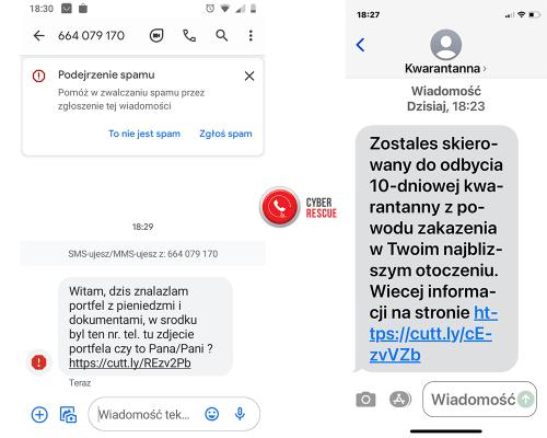 ataki SMS
