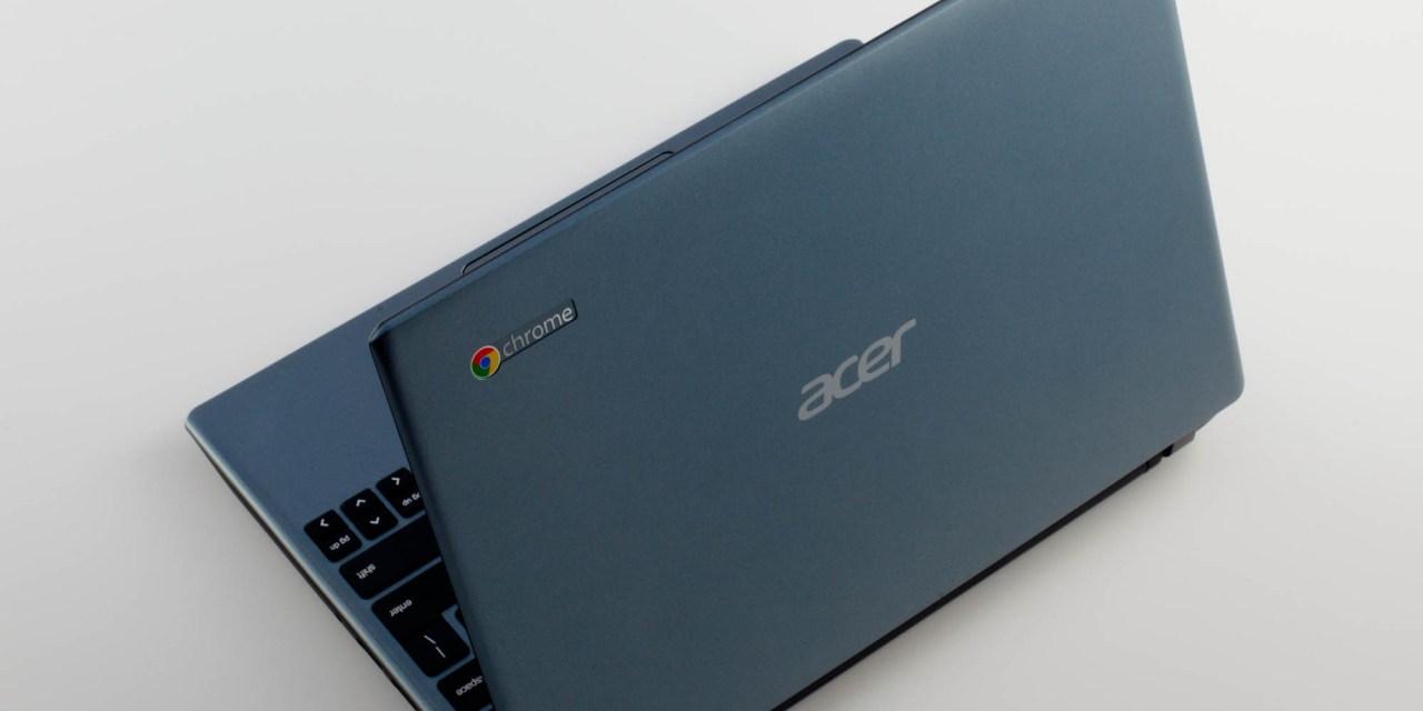 Utilisation de Chromebooks en classe