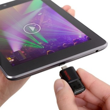 توصيل فلاش USB بهاتف الاندرويد