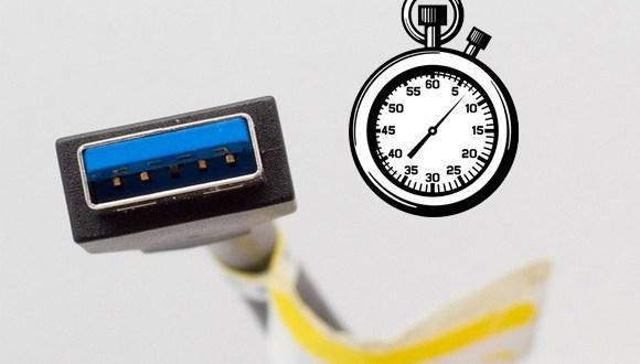 قياس سرعة الفلاش ميموري