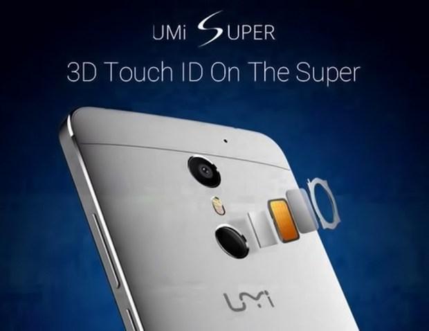 مستشعر هاتف UMI Super 4G Phablet