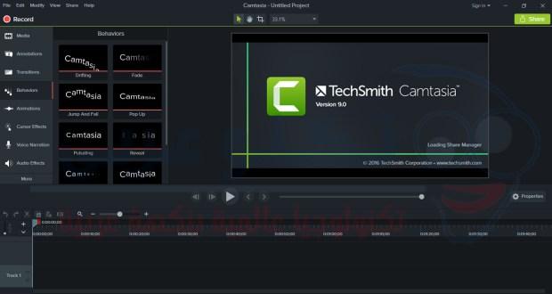 تحميل وتثبيت برنامج كامتزيا ستوديو 9