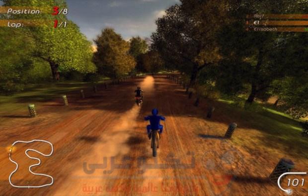 تحميل العاب خفيفة للكمبيوتر - لعبة Super Moto Racers