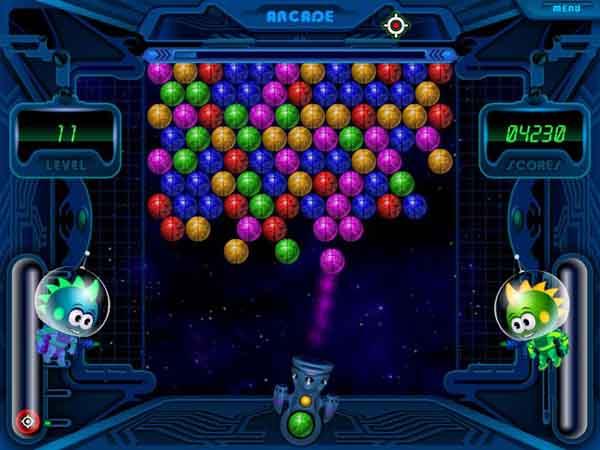صورة لعبة space bubbles