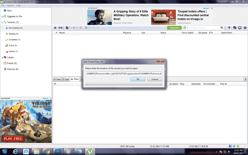 how to change utorrent download location in pc