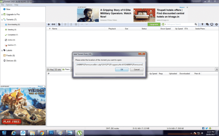 Download Movies Using uTorrent 10