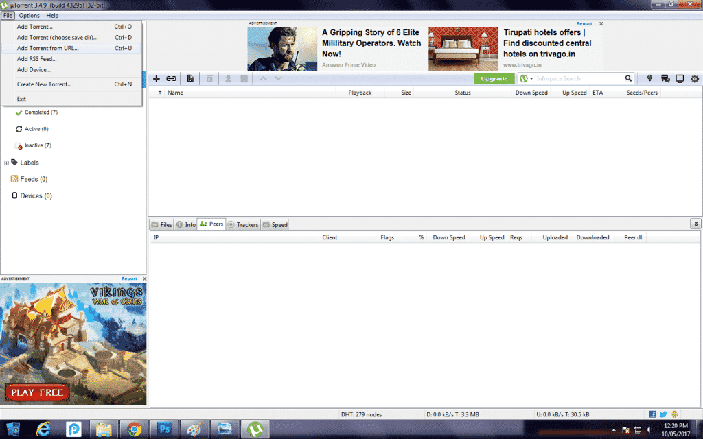 use utorrent to download movies