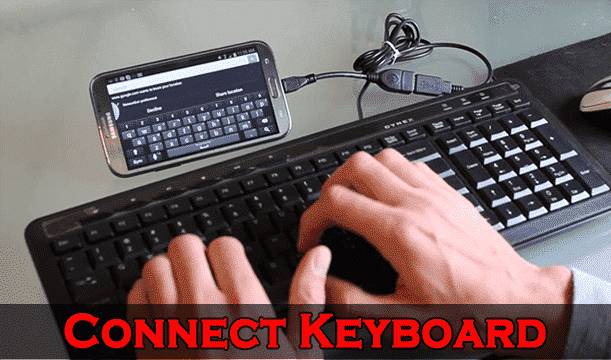 Top 10 Uses of USB OTG Cable - Connect USB Keyboard