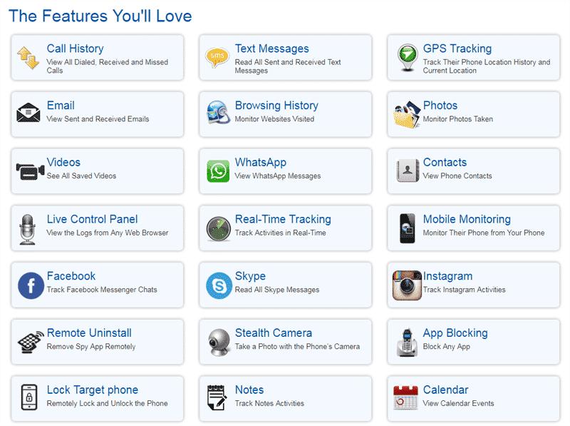best spy list apps