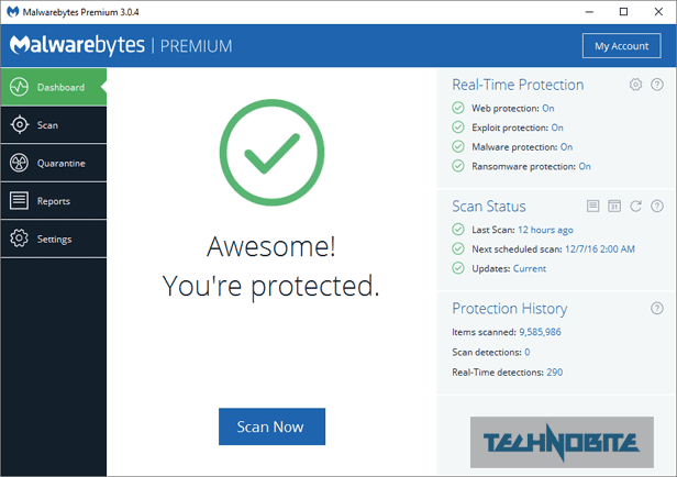 Download MalwareBytes Premium Free v3.3.1 Full Version 2018