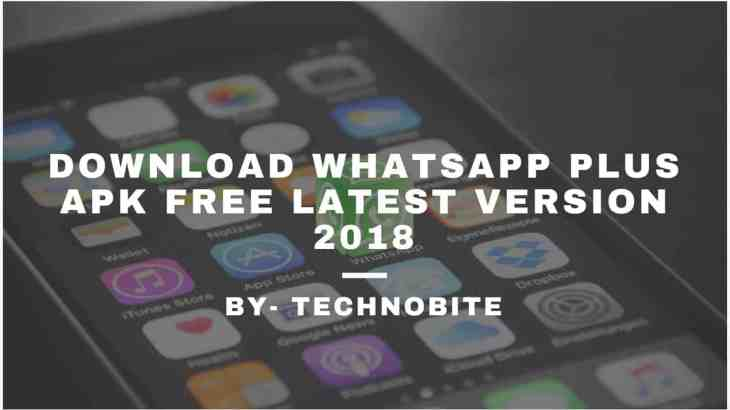 WhatsappPlusApk 2018 Download