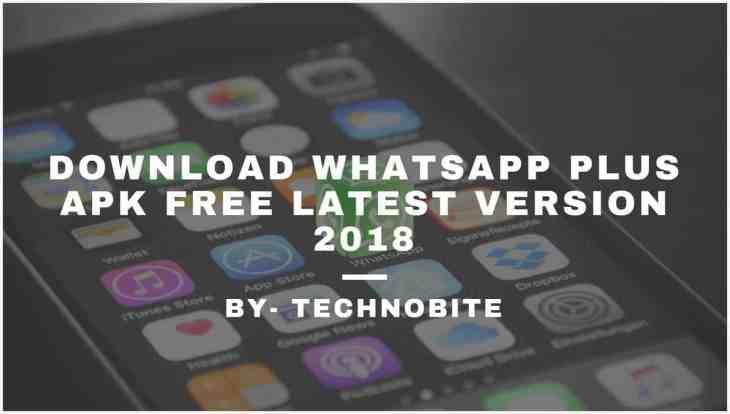 WhatsappPlusApk 2018 Download