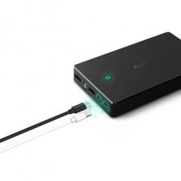 Ricarica Power Bank tramite MicroUSB/Lightning