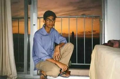 sundar pichai in college dorm