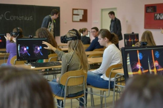 applications of virtual reality in education
