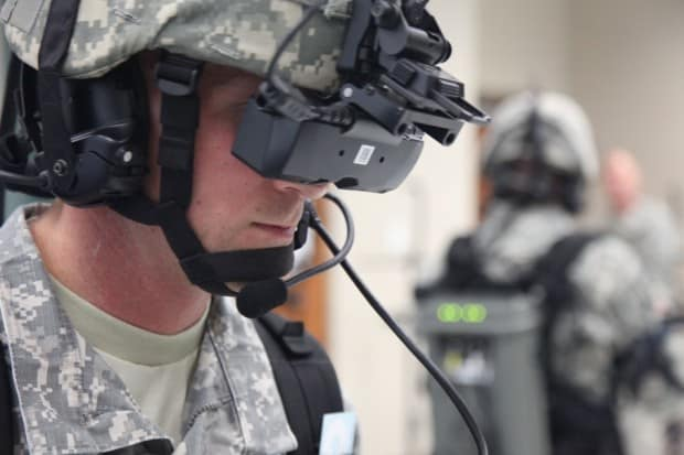 applications of virtual reality in military training