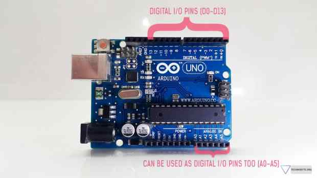 Digital IO pins