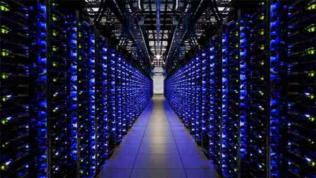 google server farm cloud computing