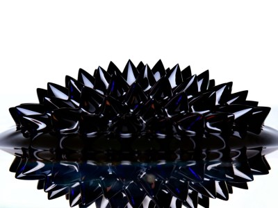 shiny ferrofluid