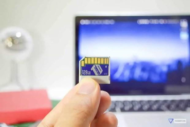 TarDisk 128GB macbook storage expansion drive