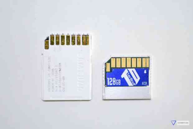 TarDisk vs SD card