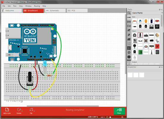 free arduino tools - fritzing 0