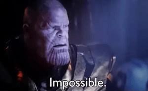 Thanos impossiblememe