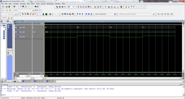 Multiplexer-behavioral-waveform