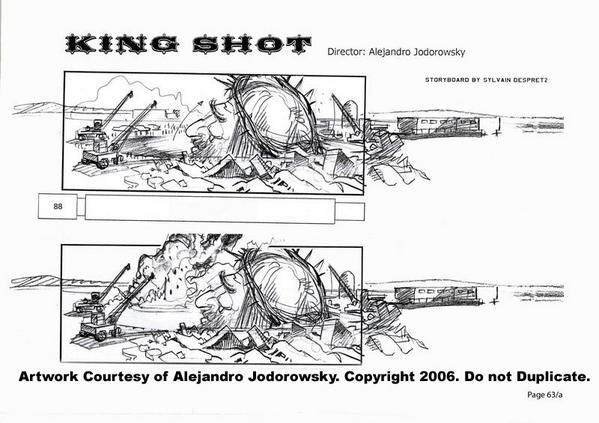 "Alejandro Jodorowsky interviewed about next movie ""King shot"""